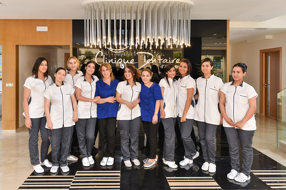 Assistantes de clinique dentaire Agadir