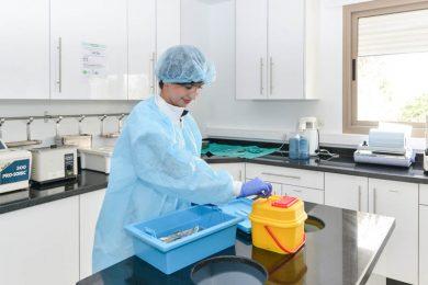 Chaîne de stérilisation intégrée